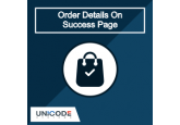 Magento 2 | Order Details On Success Page